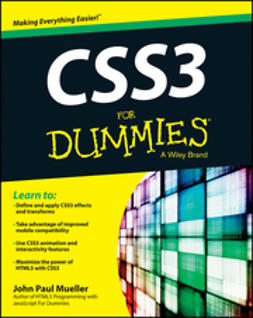 Mueller, John Paul - CSS3 For Dummies, ebook