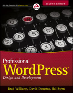 Williams, Brad - Professional WordPress: Design and Development, ebook