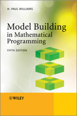 Williams, H. Paul - Model Building in Mathematical Programming, ebook