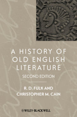 Cain, Christopher M. - A History of Old English Literature, e-kirja