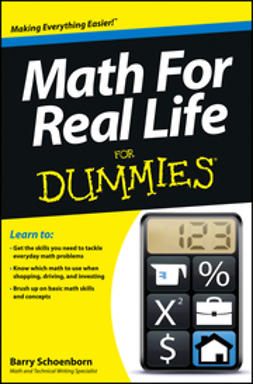 Schoenborn, Barry - Math For Real Life For Dummies, e-kirja