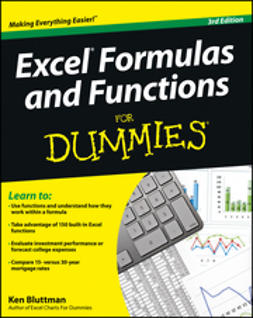 Bluttman, Ken - Excel Formulas and Functions For Dummies, ebook
