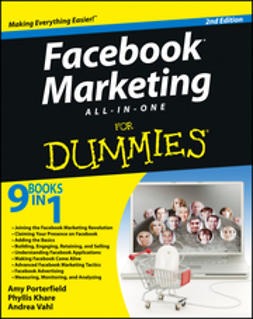 Khare, Phyllis - Facebook Marketing All-in-One For Dummies, ebook