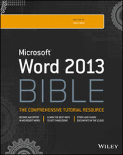 Bucki, Lisa A. - Word 2013 Bible, ebook