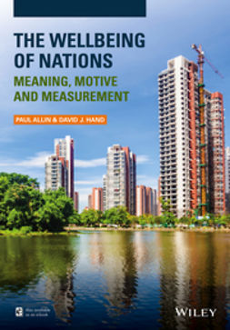Allin, Paul - The Wellbeing of Nations: Meaning, Motive and Measurement, e-bok