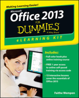 Wempen, Faithe - Office 2013 eLearning Kit For Dummies, ebook