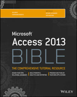 Alexander, Michael - Access 2013 Bible, ebook