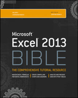 Walkenbach, John - Excel 2013 Bible, ebook