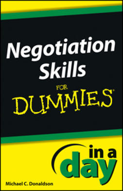 - Negotiating Skills In a Day For Dummies, e-kirja