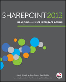 Drisgill, Randy - SharePoint 2013 Branding and User Interface Design, e-bok