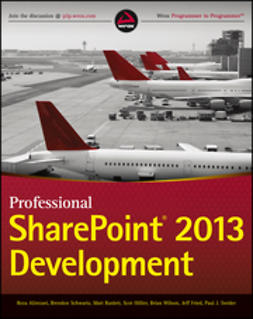 Alirezaei, Reza - Professional SharePoint 2013 Development, ebook