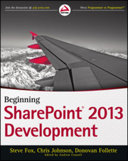 Follette, Donovan - Beginning SharePoint 2013 Development, ebook