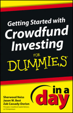 Best, Jason W. - Getting Started with Crowdfund Investing In a Day For Dummies, e-bok
