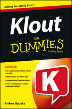 Updyke, Andrea - Klout For Dummies, ebook