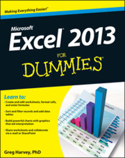 Harvey, Greg - Excel 2013 For Dummies, e-bok