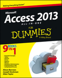 Barrows, Alison - Access 2013 All-in-One For Dummies, ebook