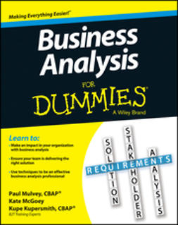 Kupersmith, Kupe - Business Analysis For Dummies, ebook