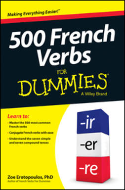 - 500 French Verbs For Dummies, e-kirja