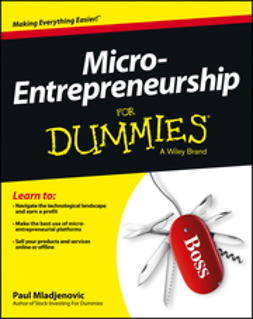 Mladjenovic, Paul - Micro-Entrepreneurship For Dummies, e-bok
