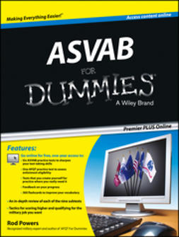 Powers, Rod - ASVAB For Dummies Premier PLUS, e-bok