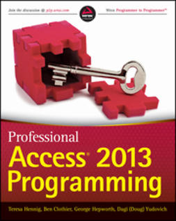 Clothier, Ben - Professional Access 2013 Programming, ebook