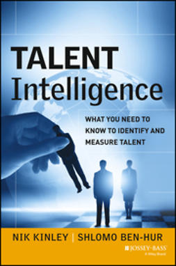Ben-Hur, Shlomo - Talent Intelligence: What You Need to Know to Identify and Measure Talent, e-kirja