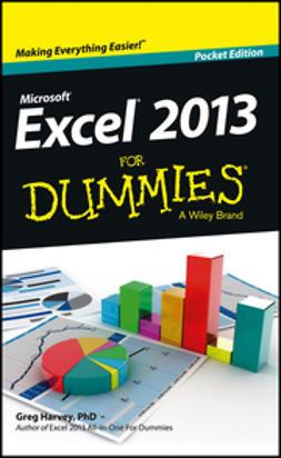 Harvey, Greg - Excel 2013 For Dummies, e-kirja