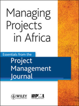 Journal, Project Management - Managing Projects in Africa: Essentials from the Project Management Journal, e-bok