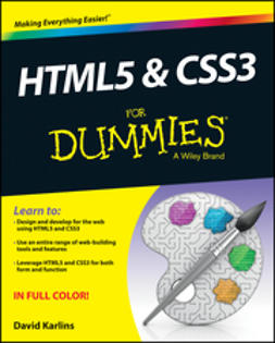 Karlins, David - HTML5 and CSS3 For Dummies, ebook