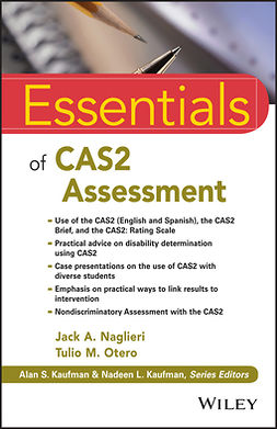 Naglieri, Jack A. - Essentials of CAS2 Assessment, ebook