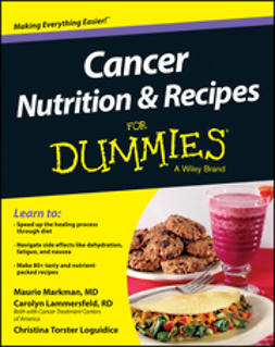 Loguidice, Christina T. - Cancer Nutrition and Recipes For Dummies, e-bok