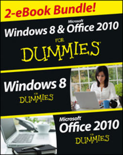 Rathbone, Andy - Windows 8 & Office 2010 For Dummies eBook Set, e-kirja