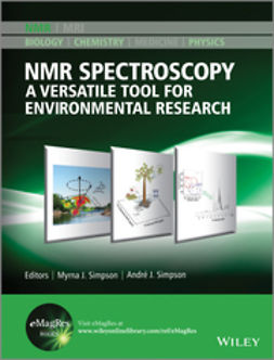 Simpson, Andre J. - NMR Spectroscopy: A Versatile Tool for Environmental Research, ebook