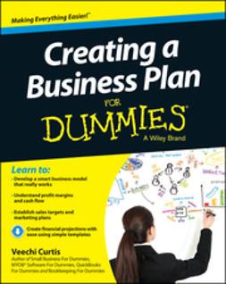 Curtis, Veechi - Creating a Business Plan For Dummies, e-kirja