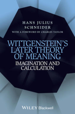 Schneider, Hans Julius - Wittgenstein's Later Theory of Meaning: Imagination and Calculation, ebook
