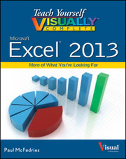 McFedries, Paul - Teach Yourself VISUALLY Complete Excel, e-kirja
