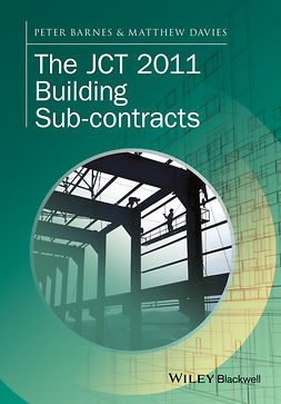 Barnes, Peter - The JCT 2011 Building Sub-contracts, e-kirja