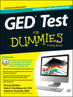 Krull, Achim - GED Test For Dummies: with Online Practice Tests, ebook