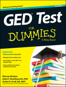 Shukyn, Murray - GED Test For Dummies, ebook