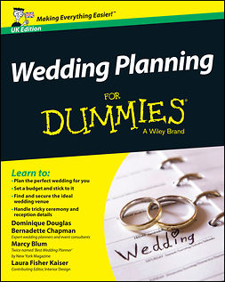 Chapman, Bernadette - Wedding Planning For Dummies, e-bok