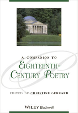 Gerrard, Christine - A Companion to Eighteenth-Century Poetry, e-kirja