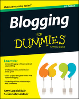 Bair, Amy Lupold - Blogging For Dummies, ebook