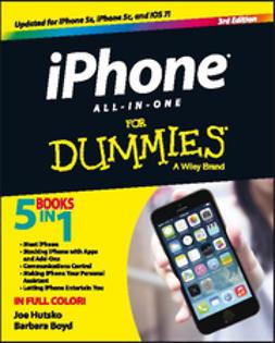 Boyd, Barbara - iPhone All-in-One For Dummies, e-kirja