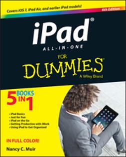 Muir, Nancy C. - iPad All-in-One For Dummies, e-bok
