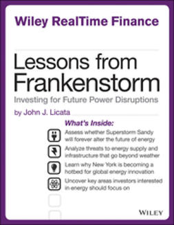 Licata, John - Lessons from Frankenstorm: Investing for Future Power Disruptions, ebook