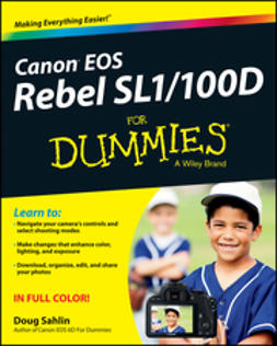 Sahlin, Doug - Canon EOS Rebel SL1/100D For Dummies, ebook