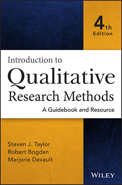 Bogdan, Robert - Introduction to Qualitative Research Methods: A Guidebook and Resource, ebook