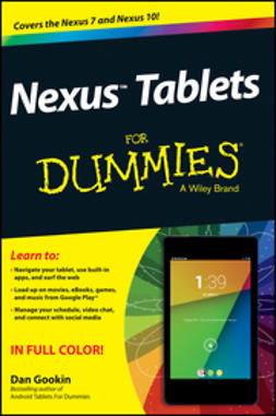 Gookin, Dan - Nexus Tablets For Dummies, e-kirja