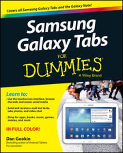 Gookin, Dan - Samsung Galaxy Tabs For Dummies, ebook