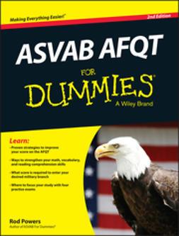 Powers, Rod - ASVAB AFQT For Dummies, e-bok